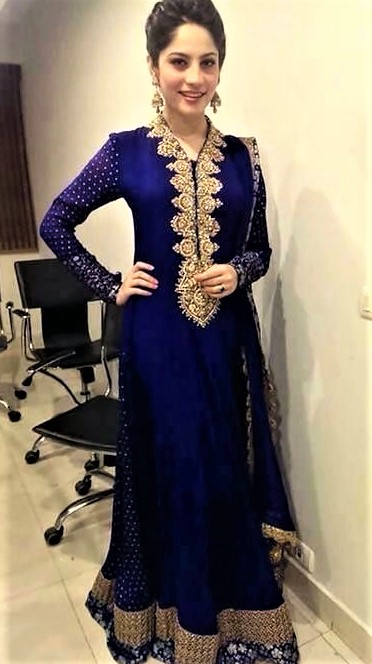 Mehndi Dresses Frock Style Formal Dresses
