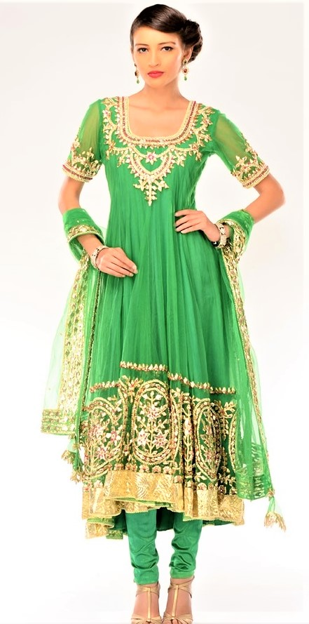 Mehndi Dresses Gota Patti Indian Suits