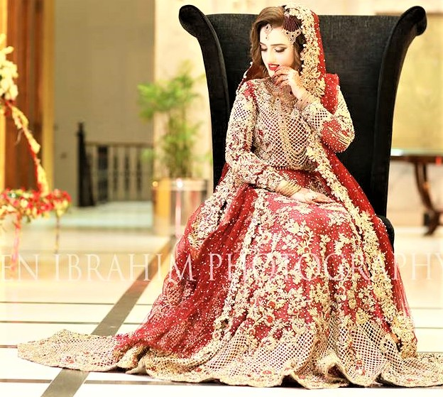 Mehndi Dresses Gota Patti Red Lehenga Designs