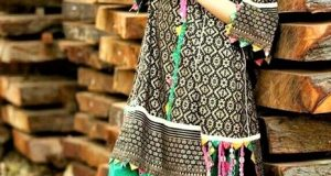 Mehndi Dresses Khaadi Lawn Frock Design