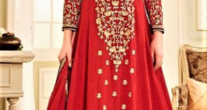 Mehndi Dresses:Airline Frock Style 2018