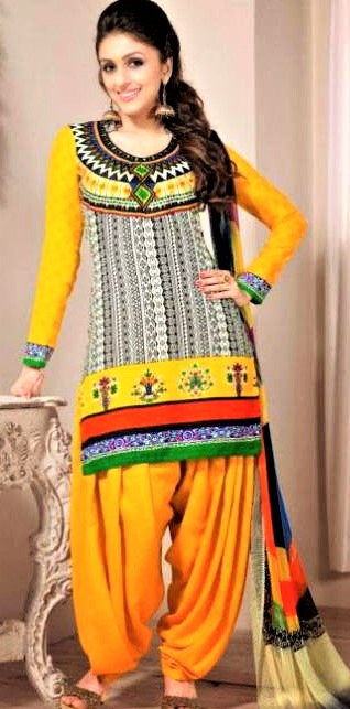 Mehndi Dresses Punjabi Suit Gallery Patiala