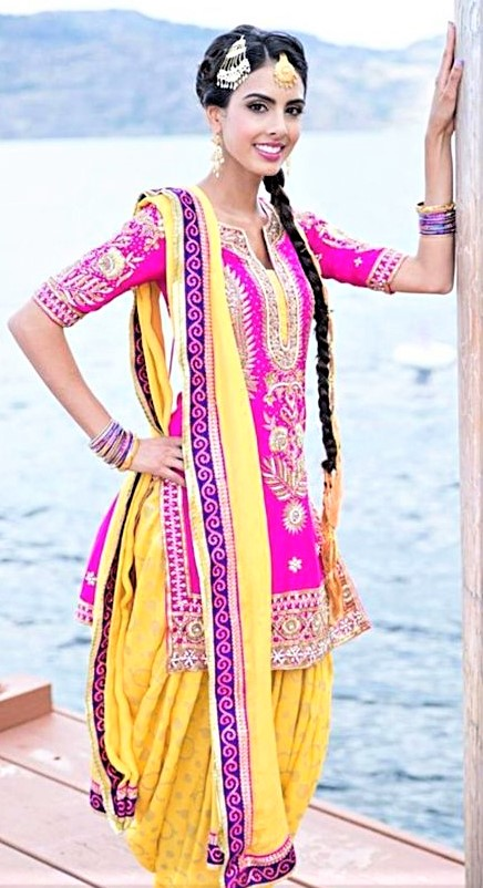 Mehndi Dresses: Punjabi Suit and Salwar Design