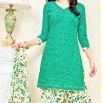 Mehndi Dressess Punjabi Suit Girlish Look