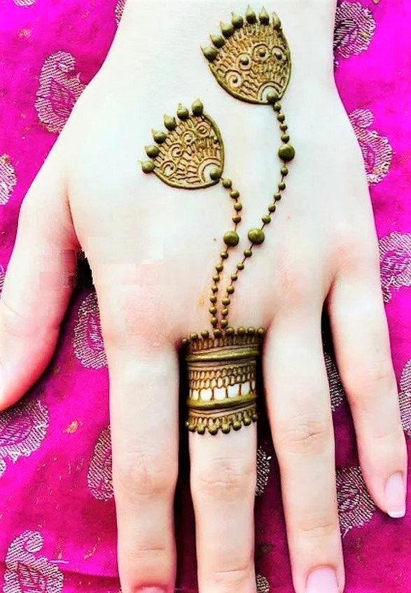 Simple Mehndi Design 2020