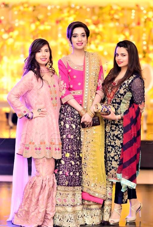Wedding Mehndi Lehenga for Bride Sister
