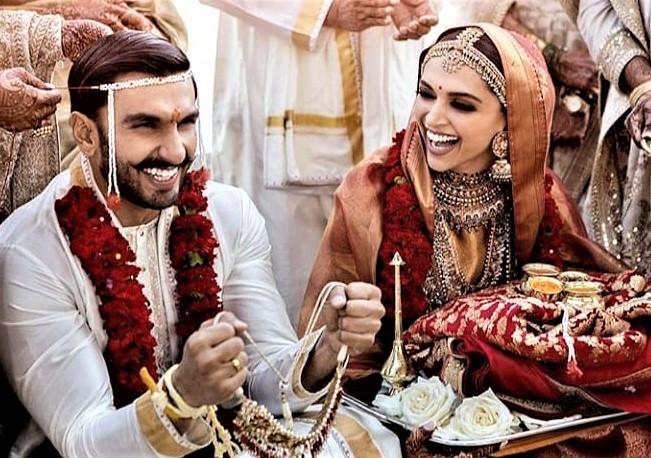 Ranveer Singh Deepika Padukone Wedding Dresses Pics