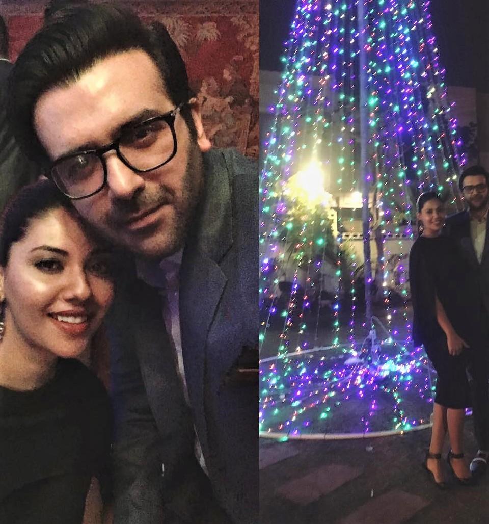 Benita David and Sunita Marshal Family Pics on Christmas Party