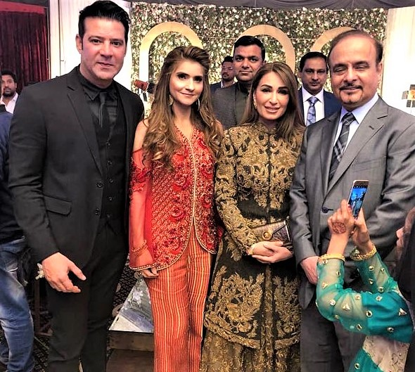 Ghulam Mohiuddin Son Family Pics on Wedding