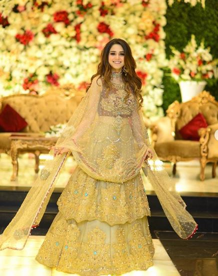 Aima Baig Wedding Pictures on her Sister Barat