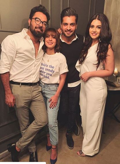 Iqra Aziz Wedding First Anniversary Pictures with Husband and Family