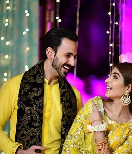 Kinza Hashmi Pakistani Actor Looks Stunning At Brother Wedding