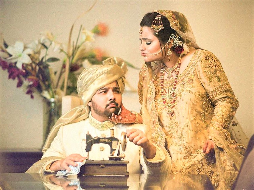 Faiza Saleem Wedding Pics at Reception Hira and Mani