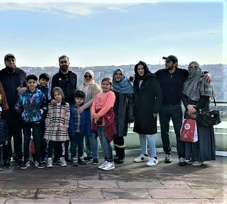 Shahid Afridi family Daughters and White on Turkey Visit Pics