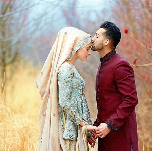 Sham Idrees Wedding Pictures of Nikkah with Queen Froggy Saher