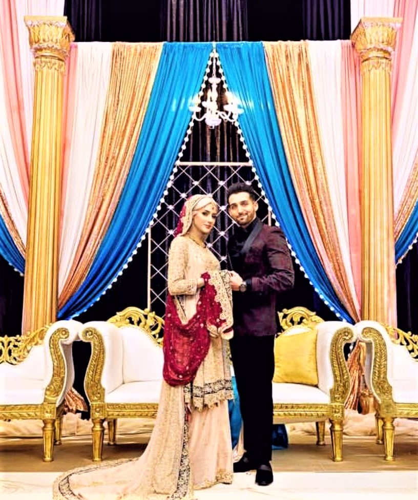 Sham Idrees and Saher (Froggy) Beautiful Engagement Wedding Pictures