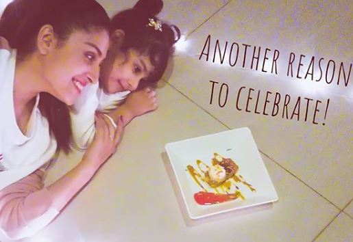 Ayeza Khan Pic With Her Daughter To Celebrate New Year