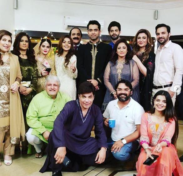 Faizan Khawaja New Drama Shooting Picture for Hum Tv