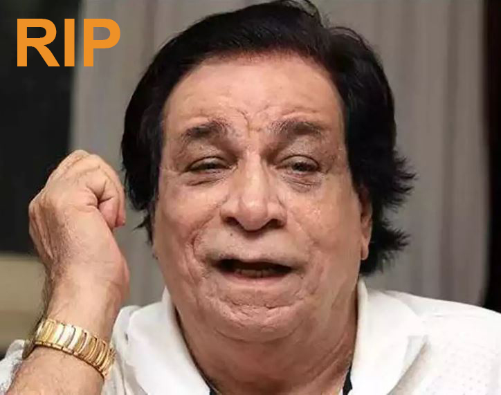 Kader Khan Death in Canada on Monday
