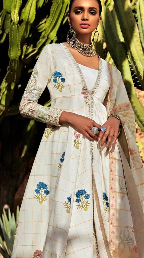 Summer Dresses Zara Shahjahan Lawn Collection 2019