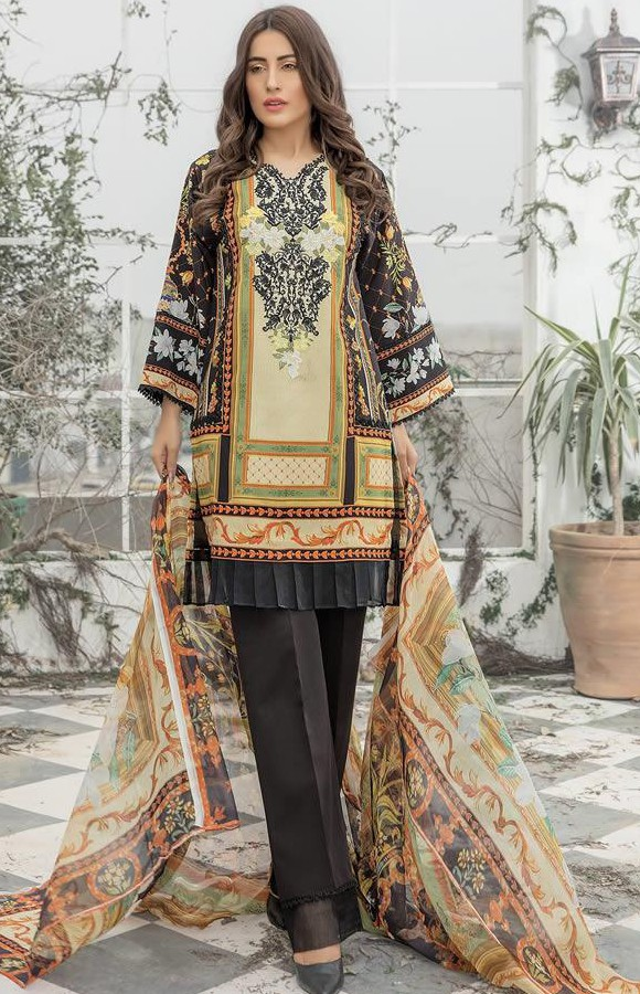 New Printed Firdous Lawn Summer Collection 2019