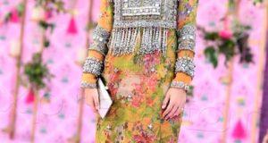 kashmiri new mehndi function dress