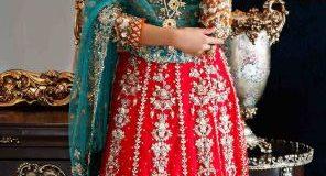 bridal Maria B Mehndi Dresses 2019-2020