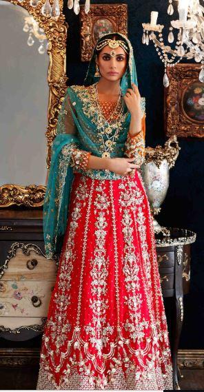Best Maria B Mehndi Dresses 2019-2020