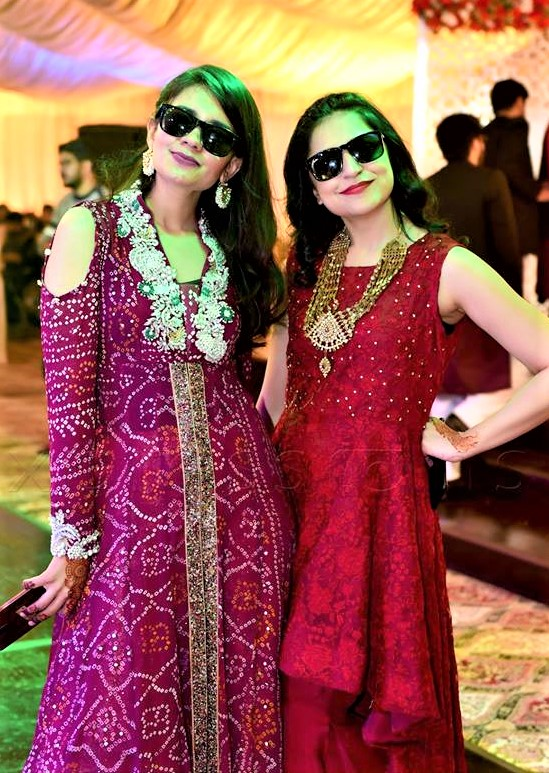 long maxi Designs of Mehndi Dresses