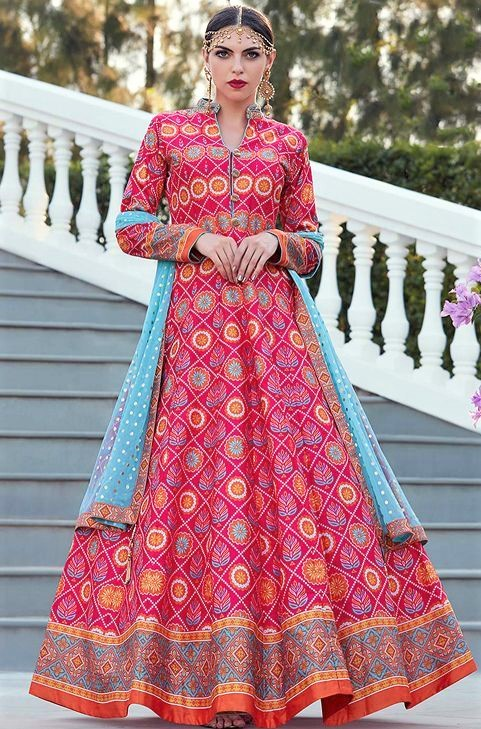 latest Long Anarkali Gowns Pakistani