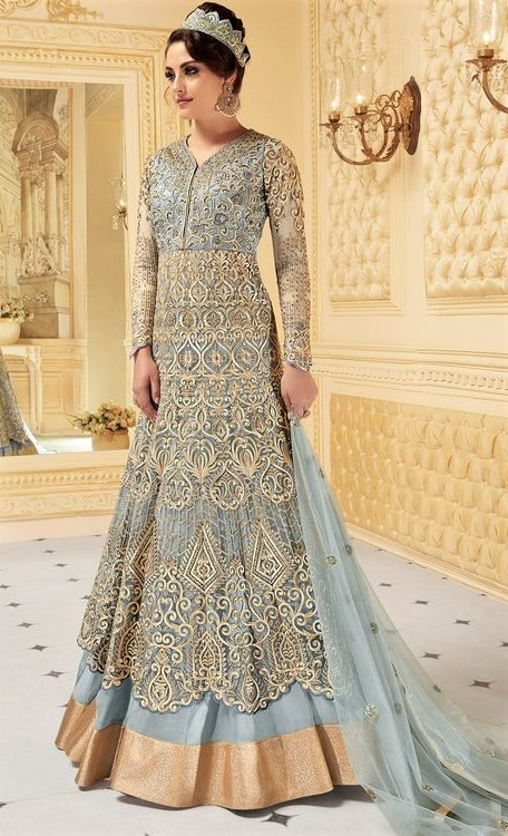 Girls best Design of Gown for Girl Pakistani Dresses