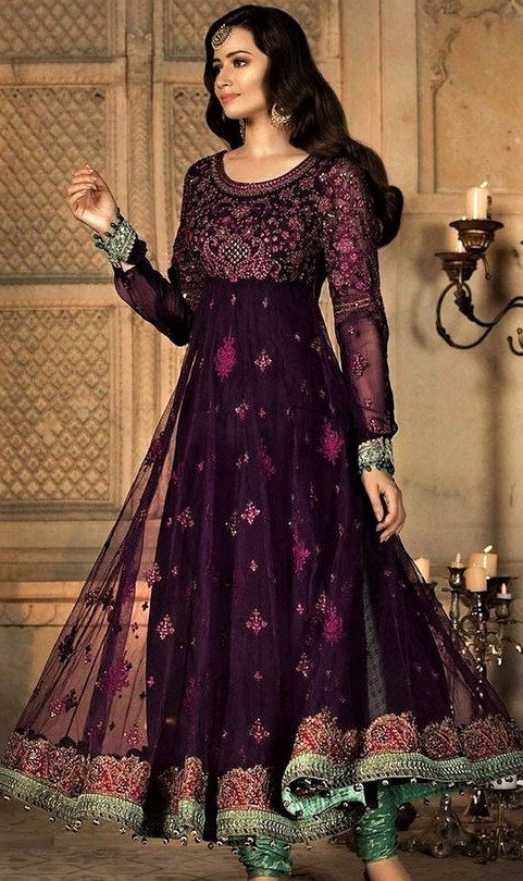 Party Wear Designer Suits Pakistani
