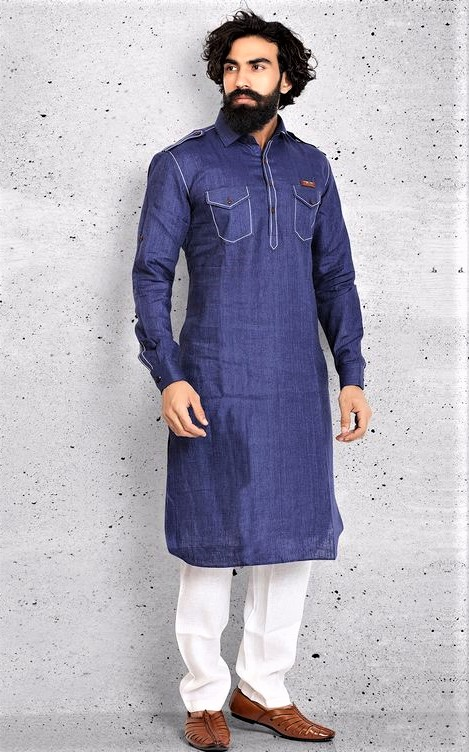 New double pocket Kurta Design on weddings