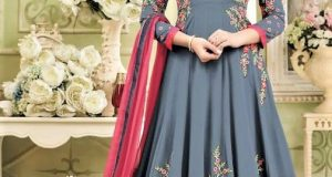 Embroidery Party Frock Design 2019