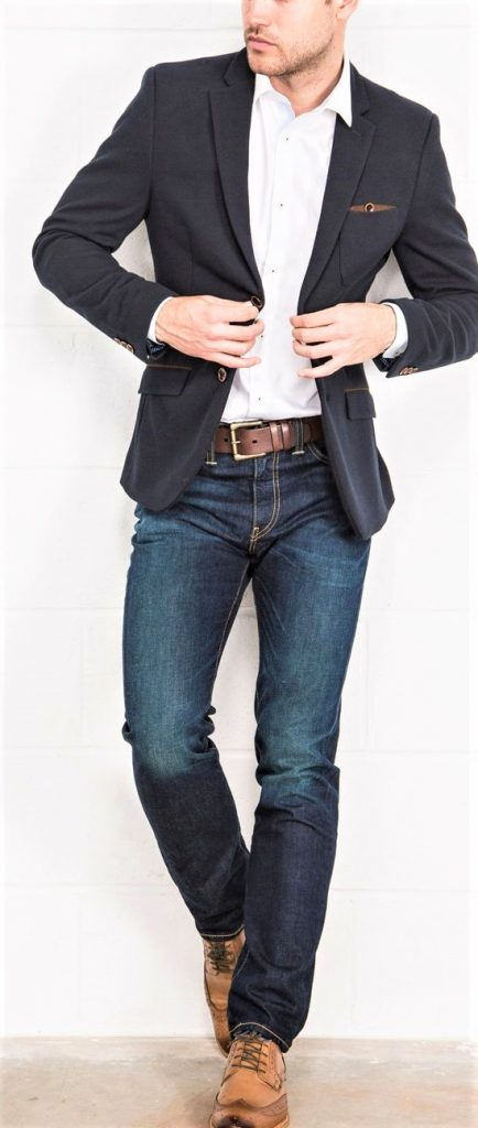 Jeans Party Wear Dresses for men in Summer