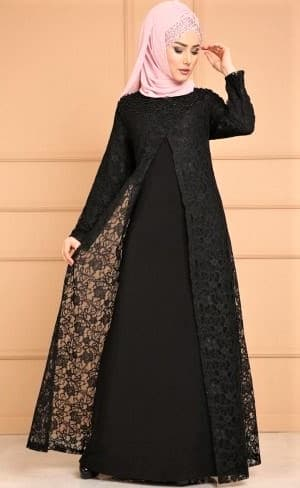 best New Abaya Dress Designs Pakistani women 2019