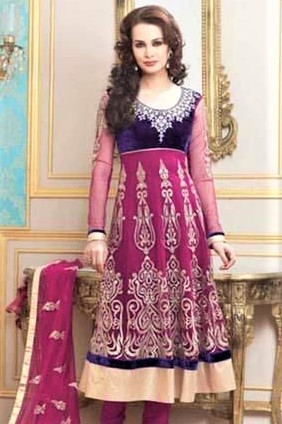 Pakistani party wear designer churidar suits