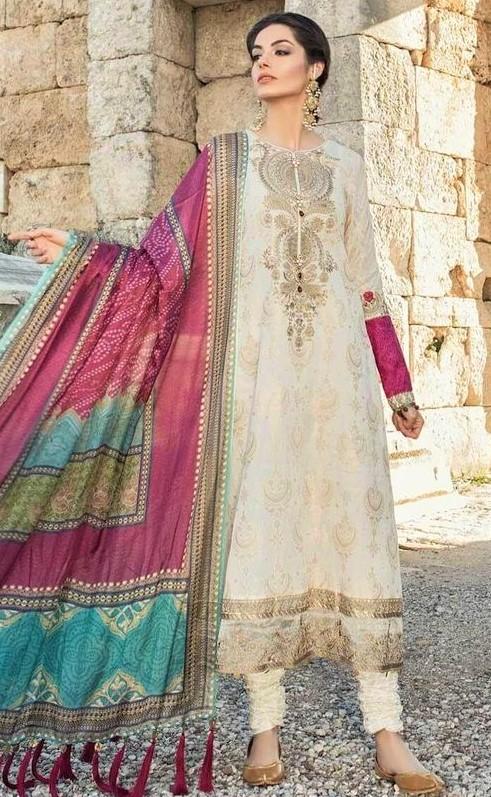 Pakistani designers Lawn Kurti Style 2019