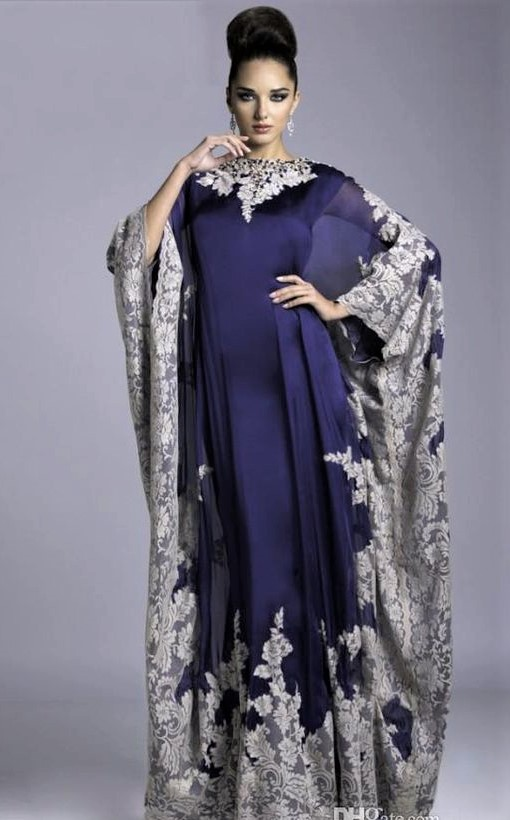 women kaftan  Abaya Dress styles 2019