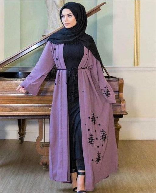 Turkish New Abaya Dress Designs Pakistani
