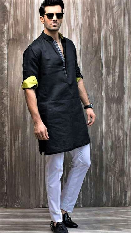 pakistani boy kurta neck design kurta