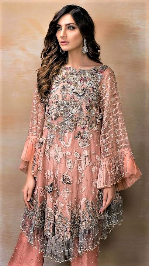 Designer Short Frocks for Party in pakistan