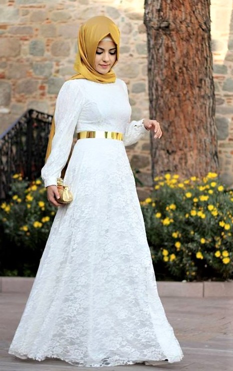 beautiful Turkish Engagement Dresses Designs 2019