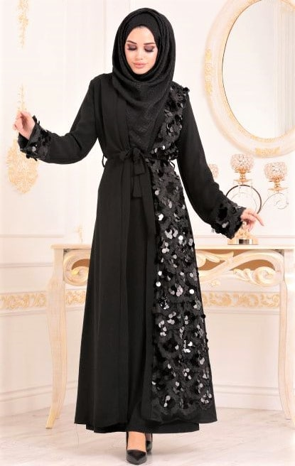 Latest Turkish Abaya Styles in Pakistan