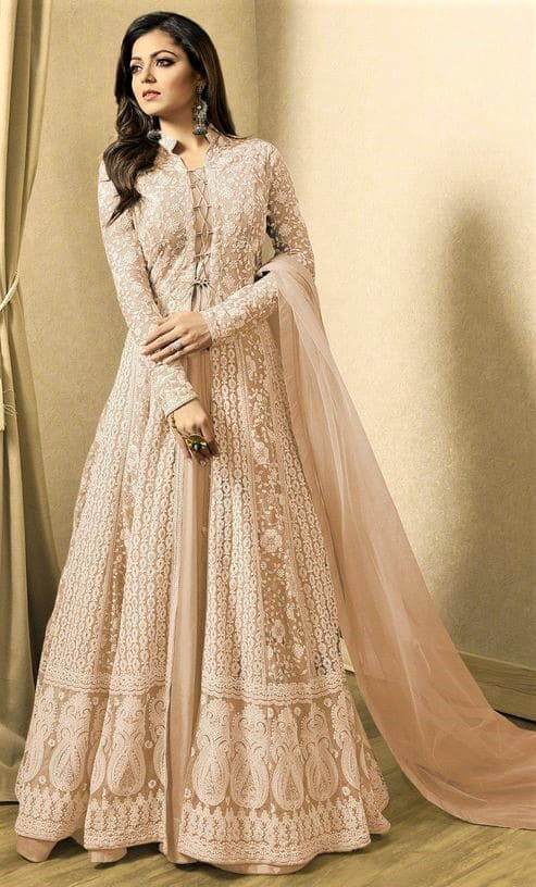 AlineLatest Design of Gown for Girl Pakistani Dresses