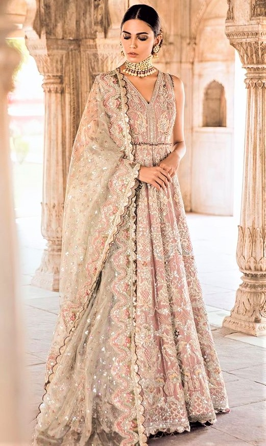 ethnic wear Bridal Engagement Dresses Pakistani