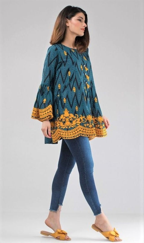 Kurta Designs for Female with Jeans