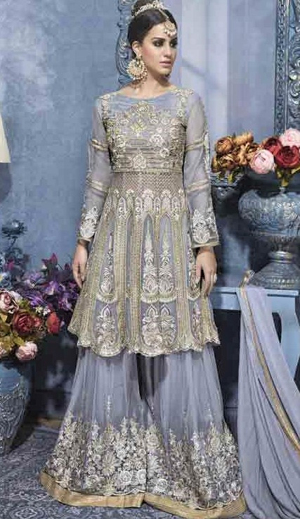 short net frock designs sharara