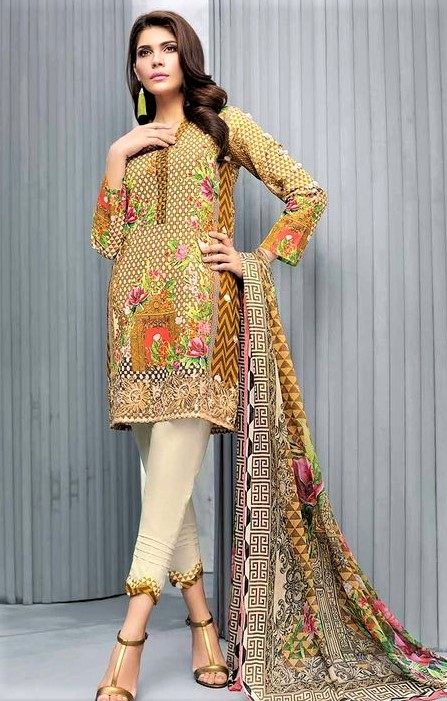 New Pakistani Lawn Kurti collection