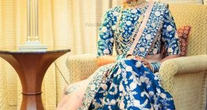 Latest Lehenga Designs for Engagement for brides